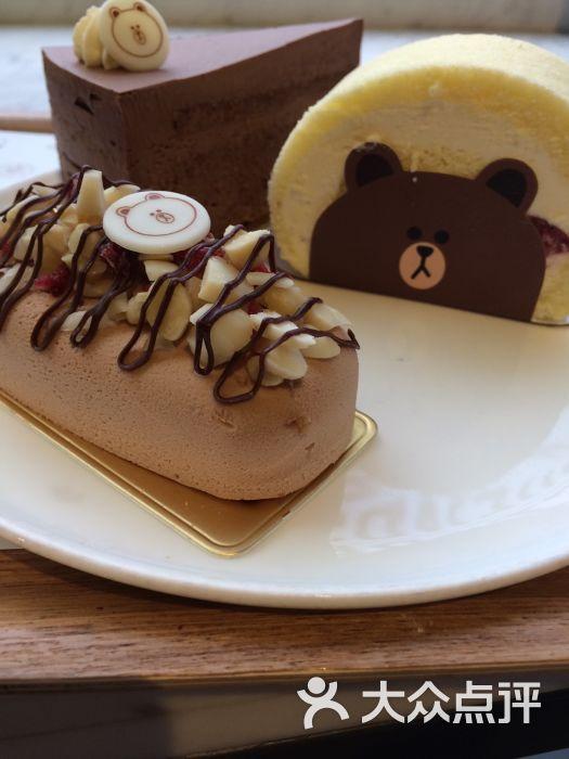 布朗熊巧克力蛋糕