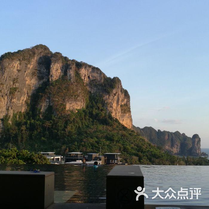 奥南悬崖楼盘套房酒店新区别墅沣别墅西安东海滩图片