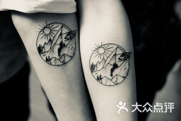 天道の入れ墨日式纹身(五角场店)手臂图片 - 第2张图片