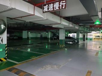蒋氏故居-停车场