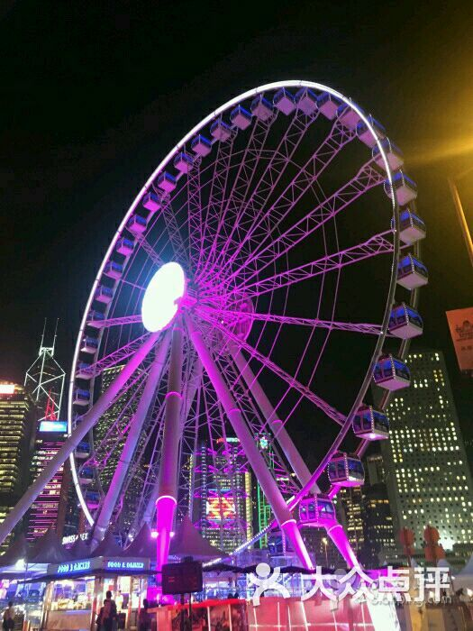 香港摩天輪圖片 - 第1張