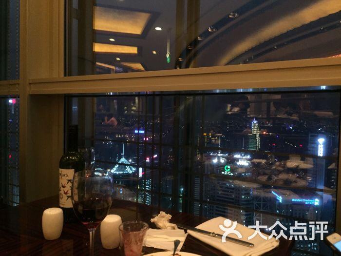 上海金茂君悦咖啡厅的点评