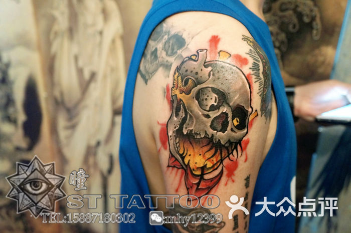 双瞳刺青纹身工作室-店内师傅的作品图片-昆明丽人