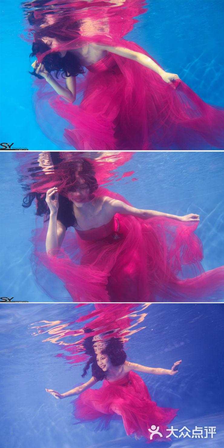 水中漫舞-sky天空摄影-天津结婚-大众点评网