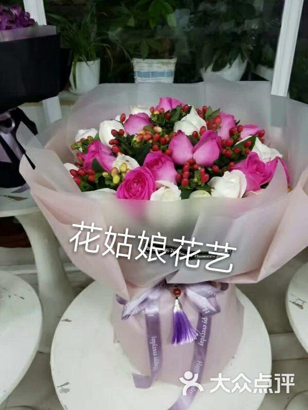 手打韩式花束图片