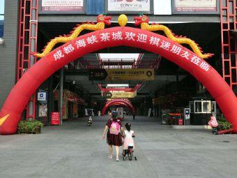 成都海峡茶城停车场
