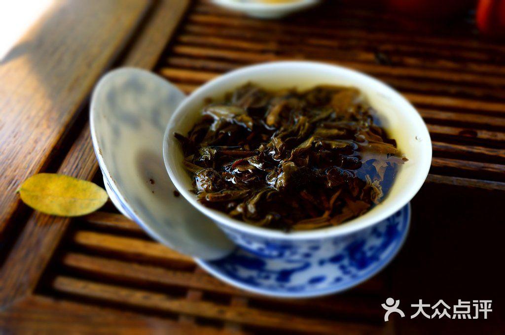 三槐院 盖碗茶图片