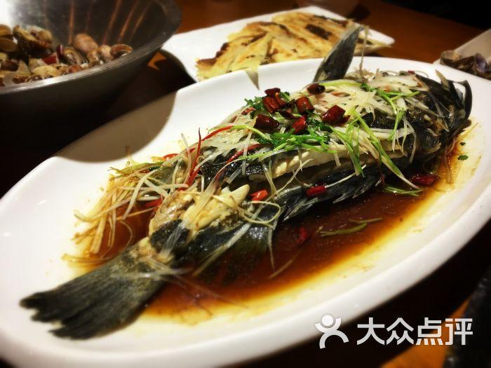 世纪海丰都源怡和大酒店-油泼黑头鱼图片-青岛美食
