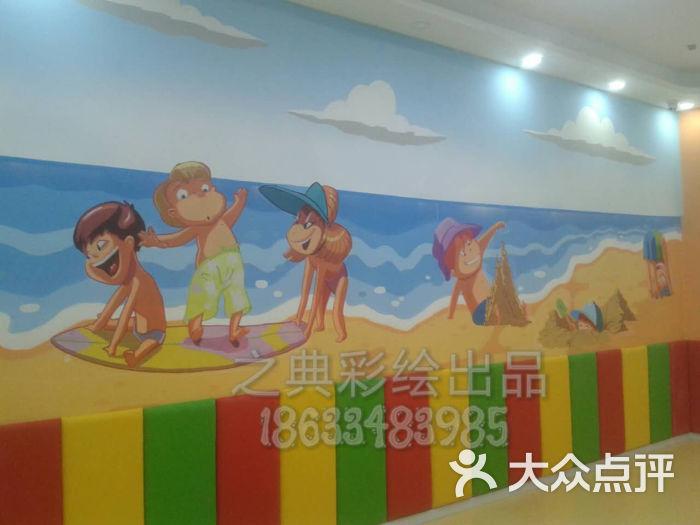 儿童游泳馆墙体彩绘