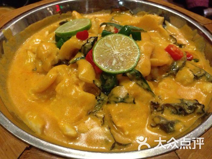 边境东南亚小吃(荟聚西红门店)-星岛咖喱鱼片图片