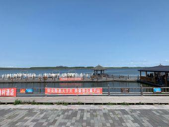 火山堰塞湖景区-停车场