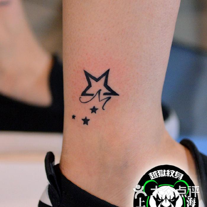 越域刺青脚腕小蝴蝶纹身图片-北京纹身-大众点评网