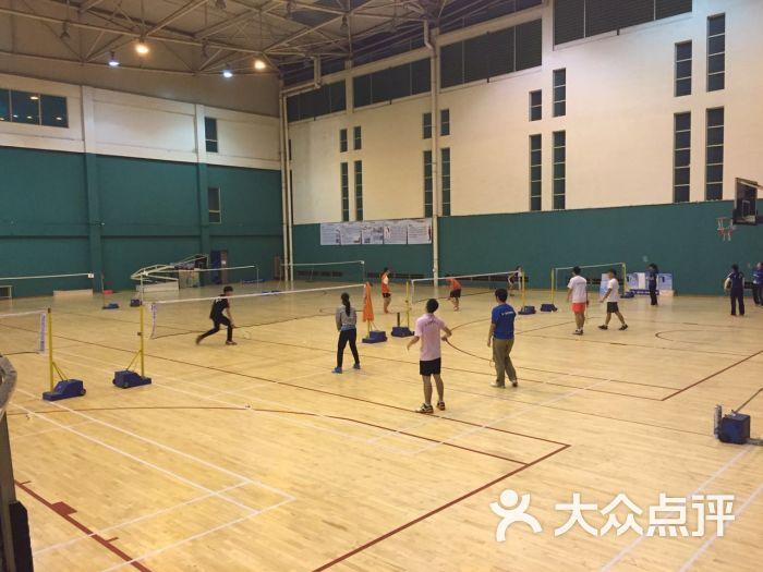华农田家炳篮球羽毛球馆球场图片 - 第1张