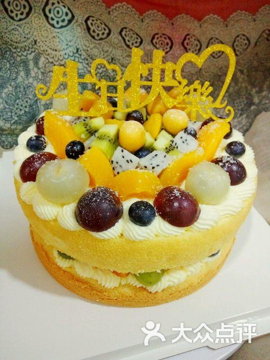 小藕の盒子私房烘焙8寸2层水果裸蛋糕图片 - 第4张