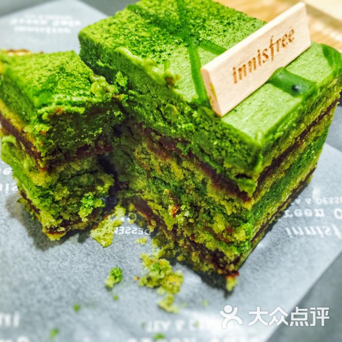 济州岛森林蛋糕-绿茶