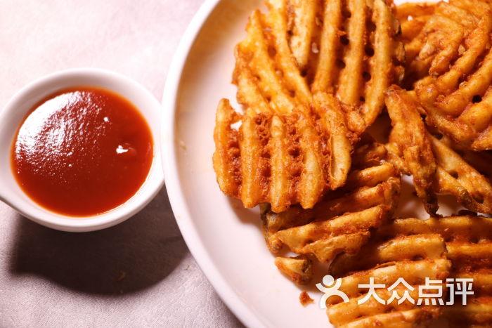 美式炸薯格图片