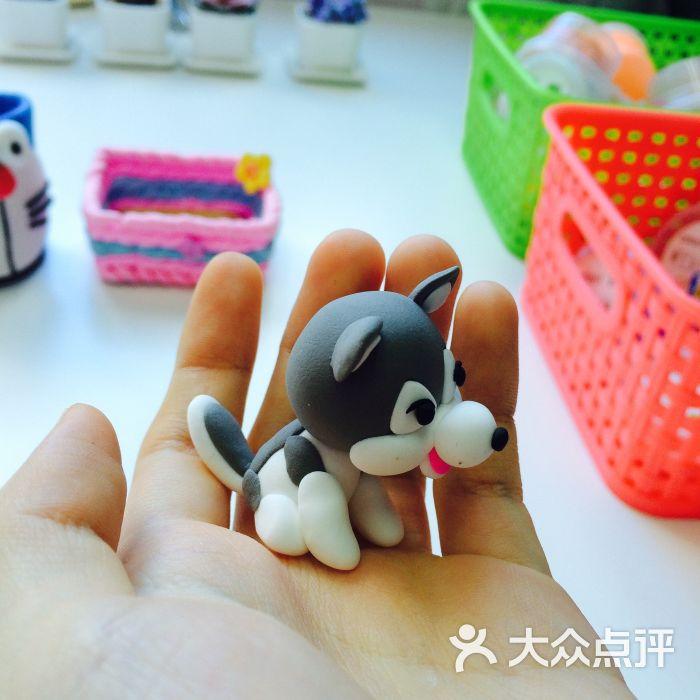 木梵diy手工软陶粘土屋粘土玩具图片 - 第1张