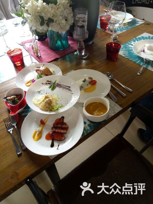 初墨-别墅花园私房餐厅图片 - 第1张