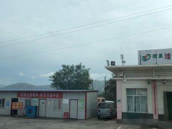 张家寺服务区-停车场