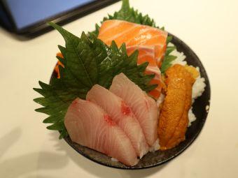 三文魚丼丼