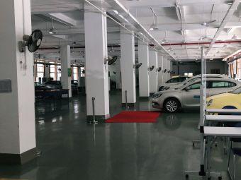 上汽培训中心上汽安悦充电电动汽车充电站