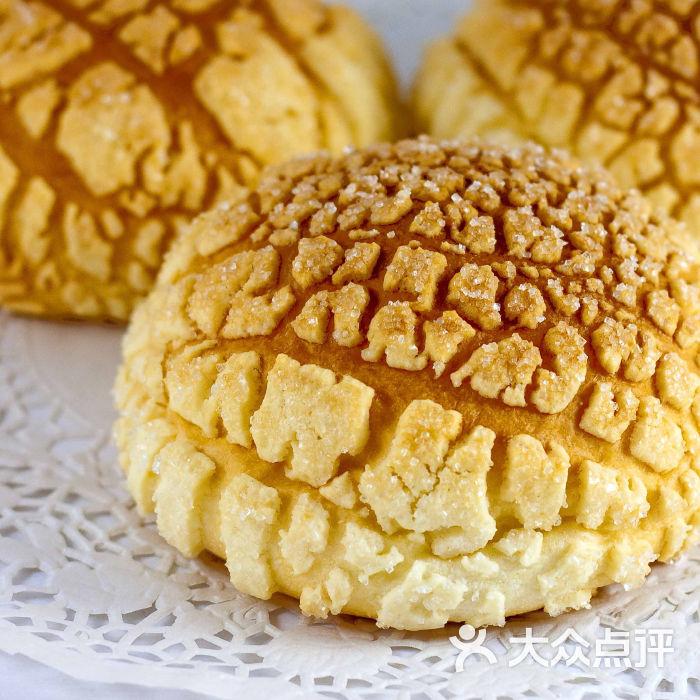 蜜丝塔工坊奶香脆皮面包图片-null面包甜点-大众点评