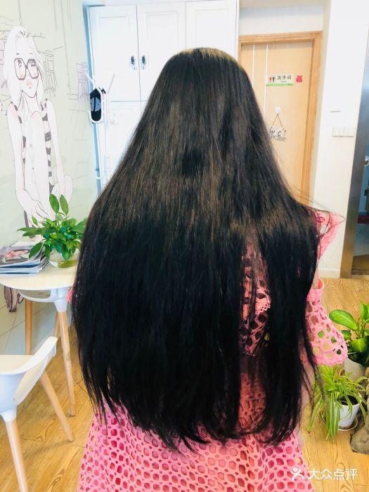 职场时尚佳瑶(车公庙店)烫发前我的头发图片 - 第48张图片