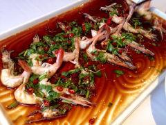 海鲜豉油闷白虾-铃兰1915公馆