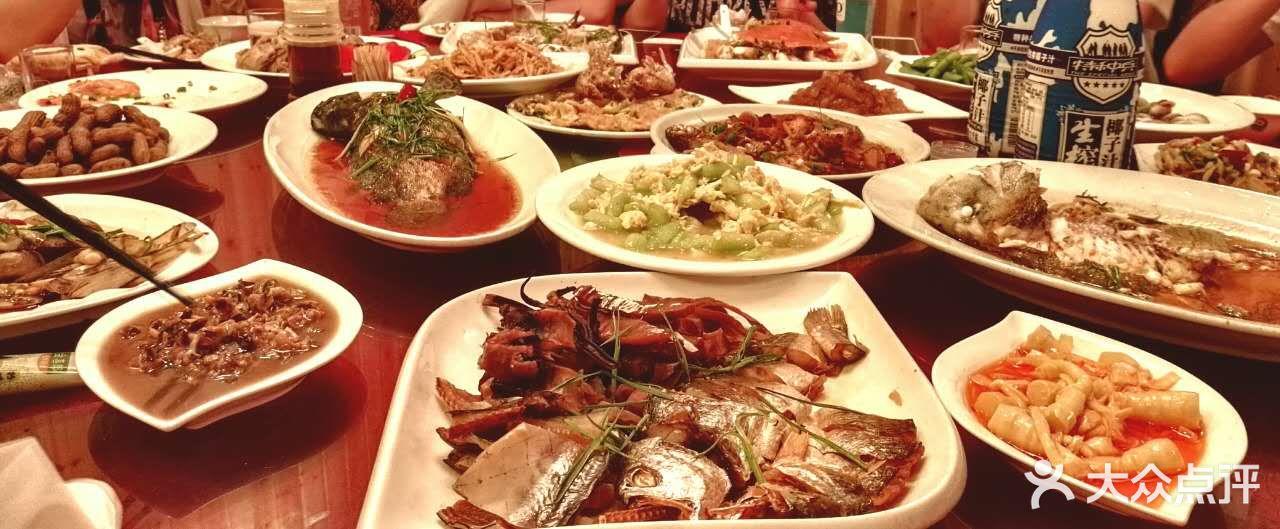 南沙风情海鲜大排档全鱼宴图片