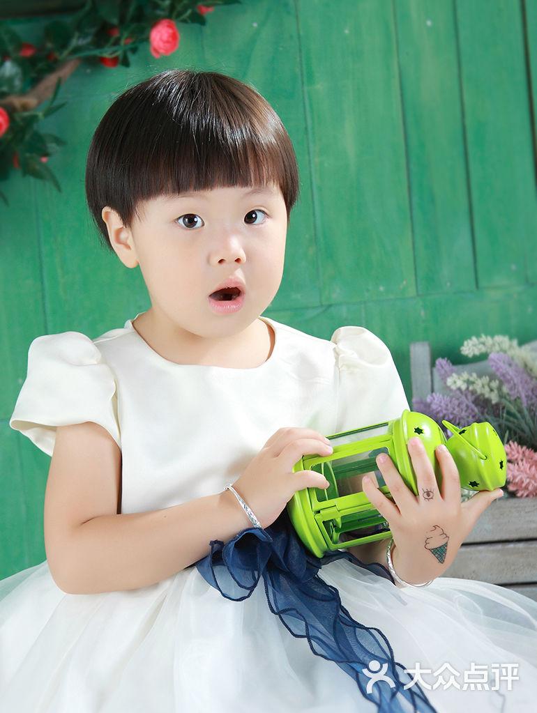 星光大道 亲子摄影 儿童摄影 雅贝最美证件照