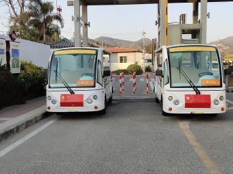 磨子石景区停车场
