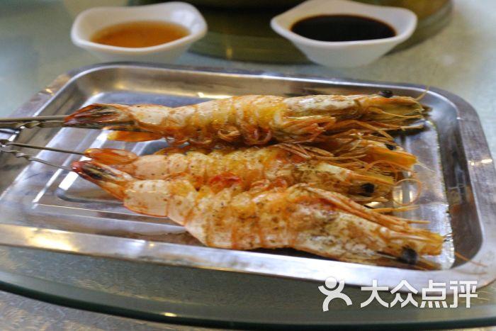 金港海鲜-烤大虾图片-青岛美食-大众点评网