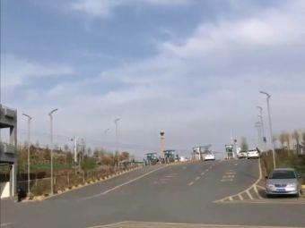 塔尔寺景区立体停车场