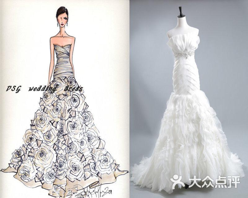 1件 奢华大气拖尾主婚纱 1件 奢华欧式出门纱 1件 高贵仪式礼服 1件