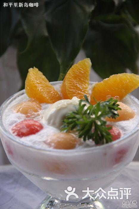 冰淇淋水果捞