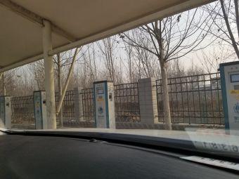 国家电网涞水西服务区汽车充电站