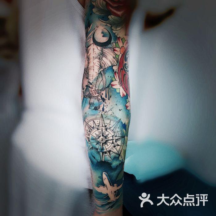 沐鹤刺青图片-北京纹身-大众点评网