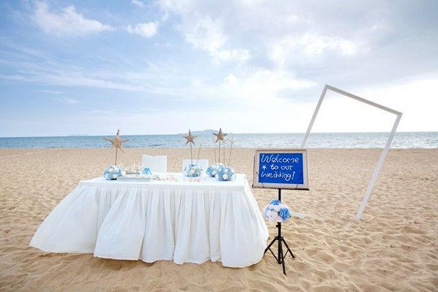 沙滩主题婚礼全攻略