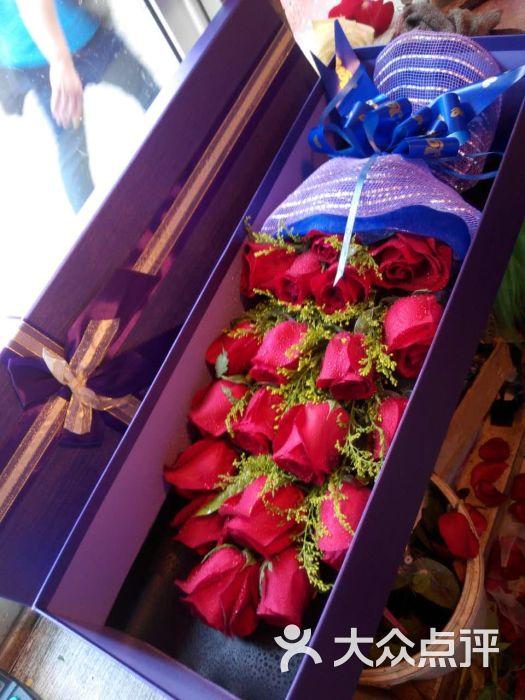 玫瑰花礼盒图片