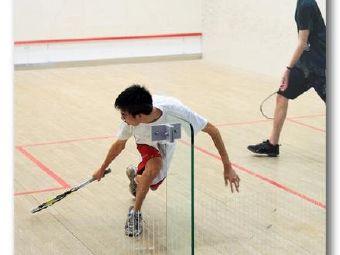 Mario squash壁球培训