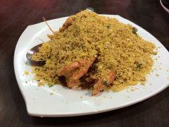 龙海鲜螃蟹王的麦片虾