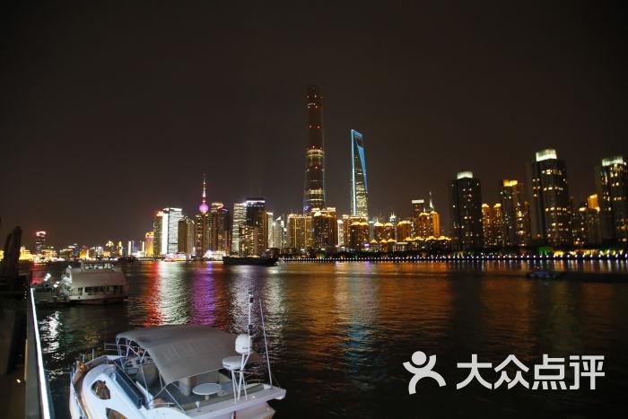 希仕会蓝舫船餐厅夜景图片 - 第305张图片