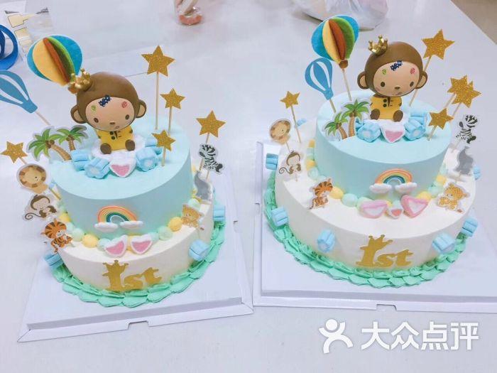 伊森微缇甜品蛋糕店生肖猴子蛋糕图片 - 第17张