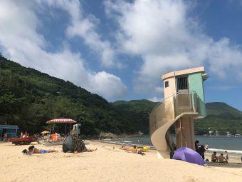 清水灣第二灣泳灘