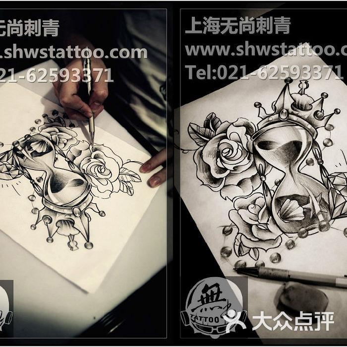 无尚刺青纹身工作室手稿 海贼王艾斯纹身图案设计 无尚刺青图片 北京