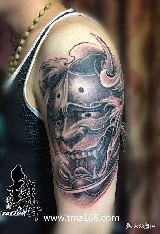 针刺青江汉路纹身作品手臂般若纹身脚踝纹身个性纹身凤凰图腾纹身图案图片