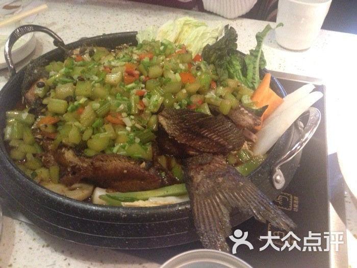 渔大福铁盘烤鱼(巴黎春天店)图片 - 第87张