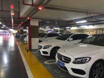华润万象城停车场