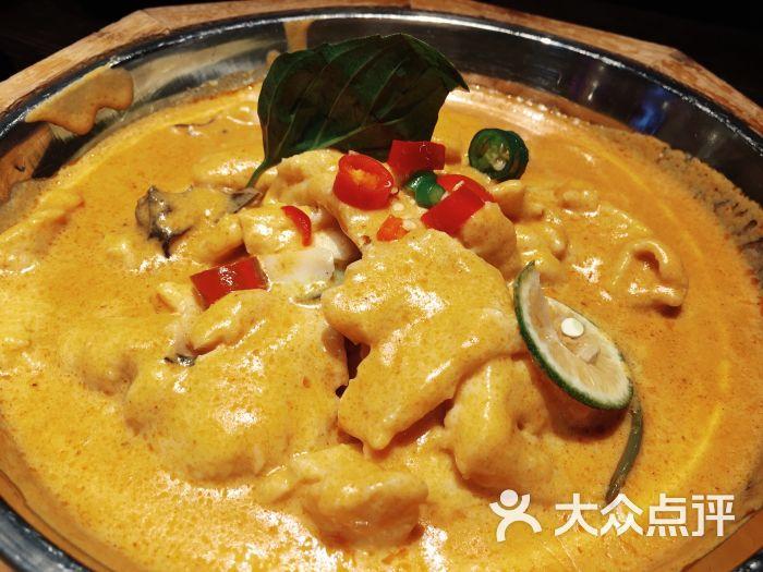 边境东南亚小吃(日月光店)-星岛咖喱鱼片图片-上海