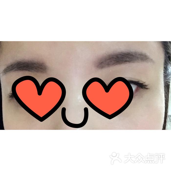 pld高端眉形设计半永久纹绣(眉眼唇定妆)的点评